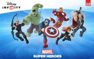 Infinity Marvel Marvel Superheroes Joining Disney Infinity
