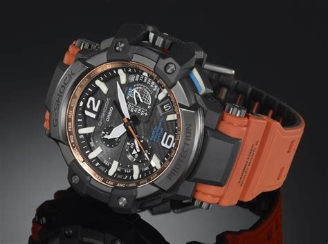 g shock gpw 1000 4a orange black
