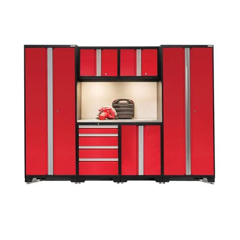 outdoor kitchen server w storage cabinet deep red newage products bold 3 series 77 in h x 108 in w x 18 in
