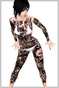 full body tattoo the sims 3 accessories lorandia sims 3 shoes jewelry makeup