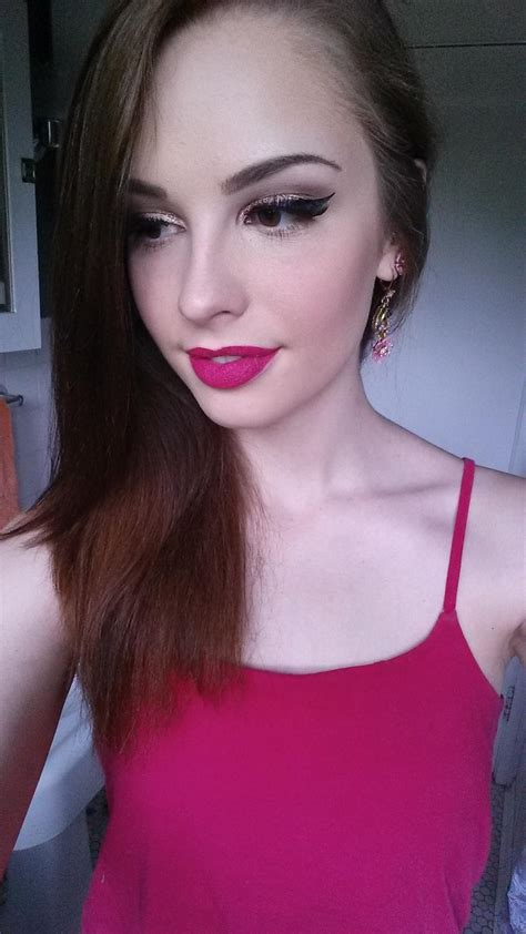 Best Makeup Vanity Fotd When Your Lipstick Matches Your Ombre Maxi Dress