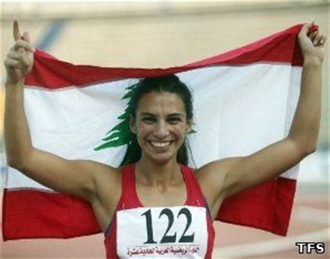 Lebanese Birth Records Gretta Taslakian Athletes Profile Publisher Track And Field Society