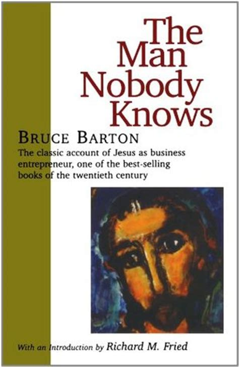 the husband books the nobody knows by bruce barton reviews discussion