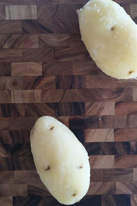 Easy Way to Peel Potatoes   POPSUGAR Food UK