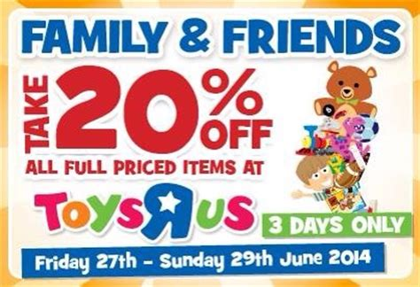 printable vouchers for toys r us on sale 20 off at toys r us with voucher this weekend
