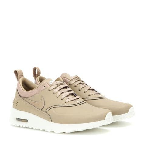 nike thea sneakers lyst nike air max thea premium leather sneakers in