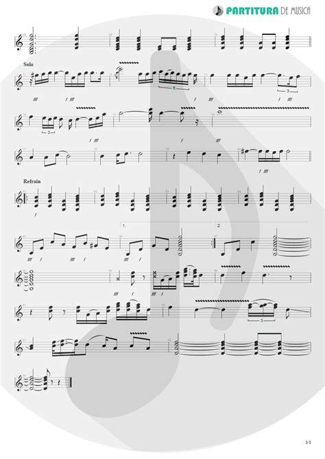 Partitura de musica - Guitarra Elétrica | Wind Of Change