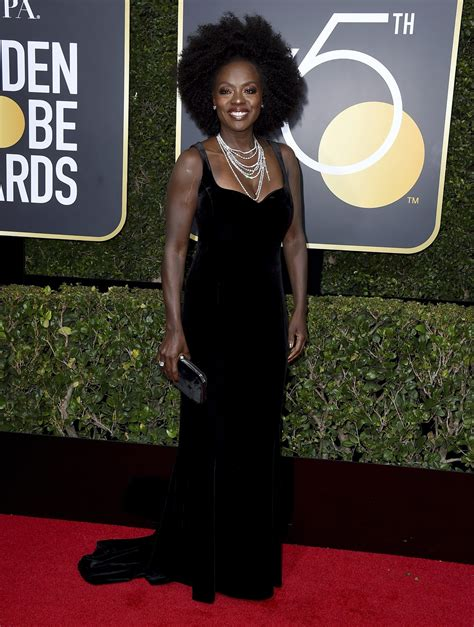 Hill In The Sunday Times Style Awards 2007 by Viola Davis Arrives At The 75th Annual Golden Globe Awards