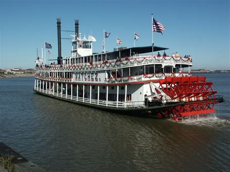 yacht boat ride in new orleans steamboat natchez hosts annual sailing with santa cruise