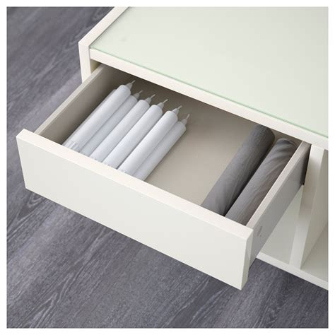boksel coffee table white 79x79 cm ikea