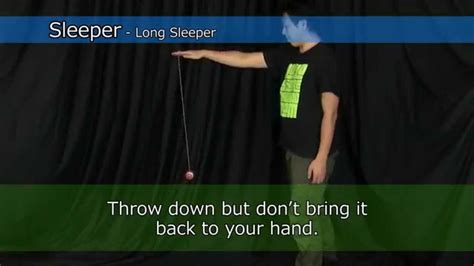 How To Do A Sleeper Yoyo by Easy Tricks Yoyo Info Base By Rewind Yo Yo Usa