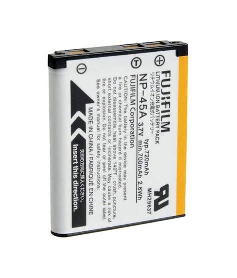 Batre Kamera Fujifilm Np 45a fujifilm np 45a battery price in india buy fujifilm np 45a battery at snapdeal