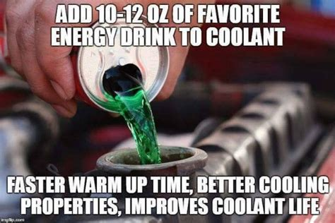 energy drink jokes seriously awful absoutely horrible winter maintenance tips