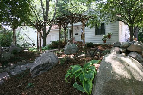 definition of backyard northwoods style northfield garden features eclectic art