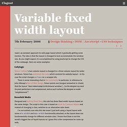 css layout variable width css layouts resources pearltrees