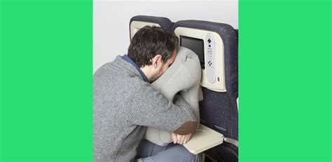 Airplane Pillow Reviews by Plant Into This Airplane Tray Table Pillow Techcrunch
