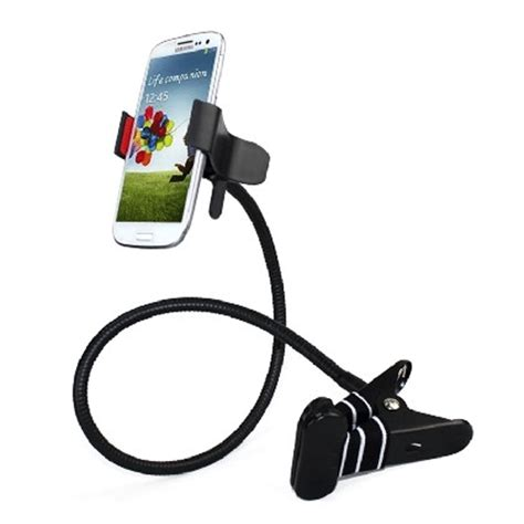 Phone Holder Stand Lazypod Mobile Phone Monopod Tripod 8 1 lazypod mobile phone monopod tripod 8 white