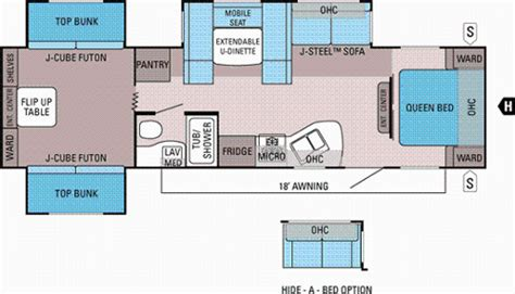 bunkhouse trailer floor plans bunkhouse travel trailer floor plans gurus floor