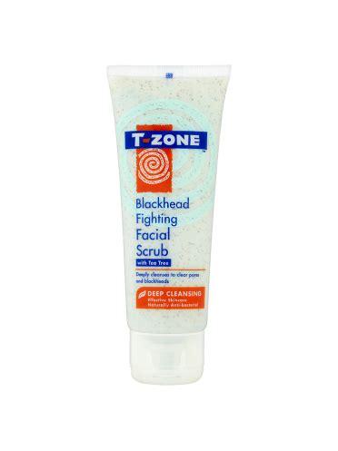 Soap And T Zone Detox Scrub by T Zone Blackhead Fighting Scrub With Tea Tree 75ml