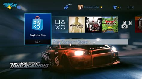 ps4 themes with music ps4 gets two free or almost need for speed themes