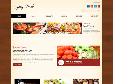 free bootstrap templates for online food order bootstrap archives freemium download