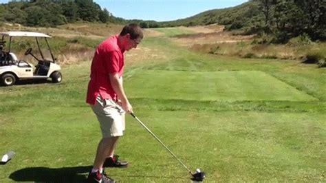 golf swing for bad back this guy is so bad at golf and it s painfully funny