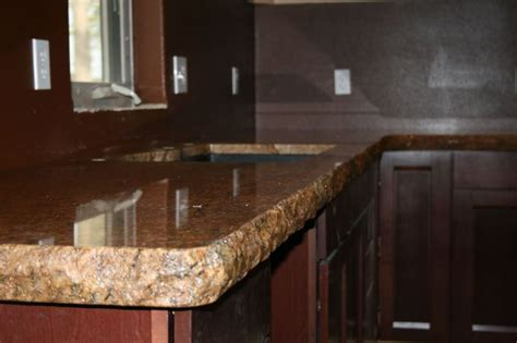 Granite Countertop Dealers by 1000 Images About Chiseled Edge Countertops On