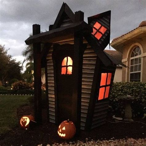 How To Make A Haunted House Out Of Paper - the world s catalog of ideas