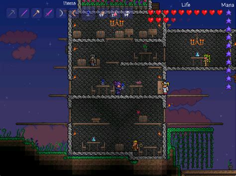Cool House Blueprints Terraria Is It A Bad Idea To Have A Water Candle In My