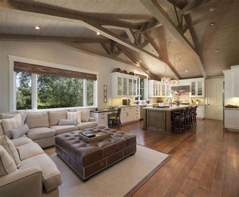 Beamed Ceilings Living Room