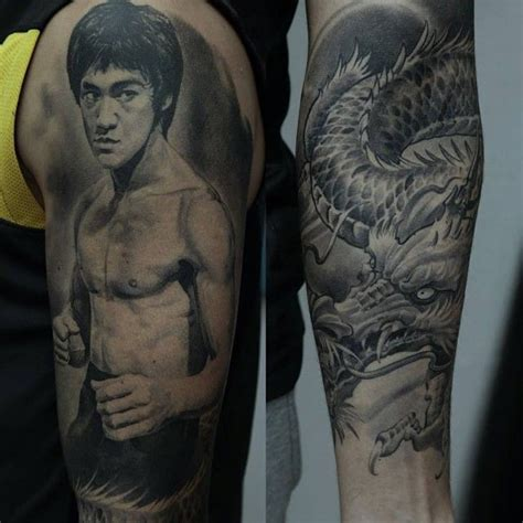 bruce lee tattoo 1000 images about bruce on posts colors