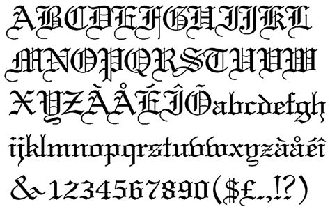 tattoo old english alphabet old english lettering tattoos eemagazine com