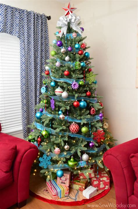who makes martha stewart christmas trees jingle brights inspired tree sew woodsy