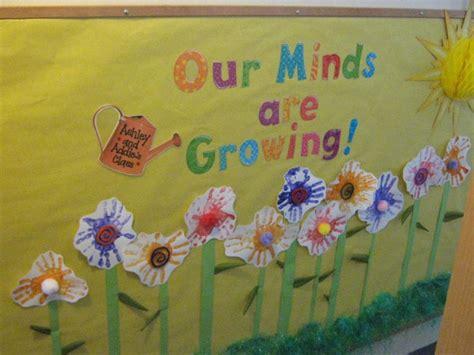 Garden Bulletin Board Ideas Garden Bulletin Board For May Growing And Changing Preschool Pinterest