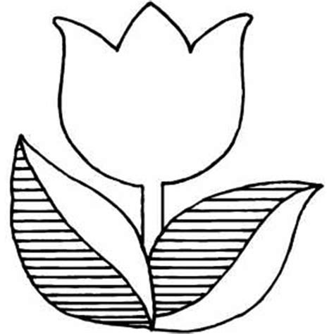 tulip coloring pages tulips a logo version of tulip coloring page coloring