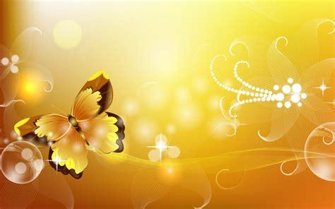 Orange Color Butterfly Powerpoint Templates Orange Color Colorful Floral Powerpoint Templates Flowers Orange