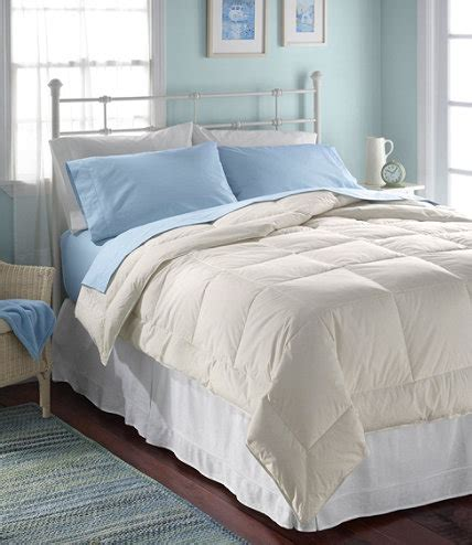 ll bean down comforter box stitch white down comforter warmer free shipping at