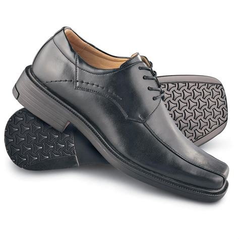 s deer stags 174 orlando run dress shoes black