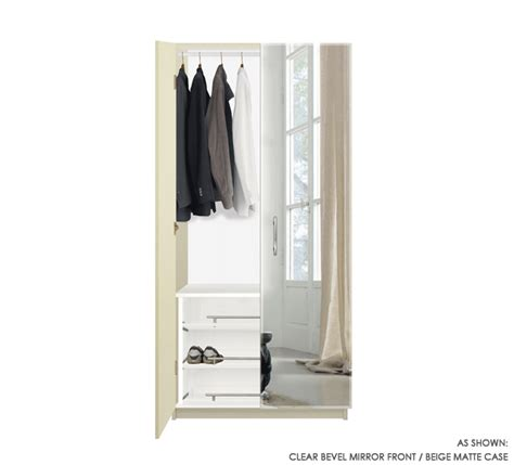 Wardrobe Closet With Mirror Doors by Wardrobe Closet Wardrobe Closet Mirror Doors