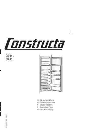 kühlschrank mit eis constructa ck 66540k 195 188 hlschrank pdf anleitung f 195 188 r