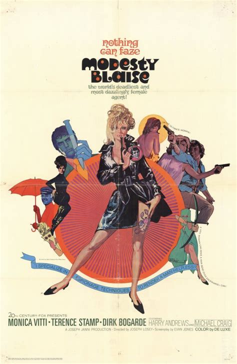 modesty blaise film quentin tarantino modesty blaise movie posters from movie poster shop