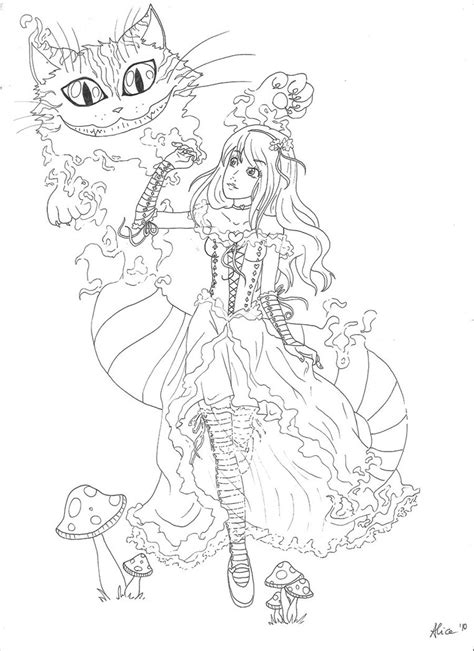 kitty cheshire coloring pages coloring pages fun cheshire cat alice in wonderland