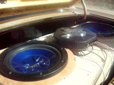 Speaker 18 Inch Ads 1870 800 Watt 2 12 800 watt pioneer subwoofer powerd by 800 watt sony late tip