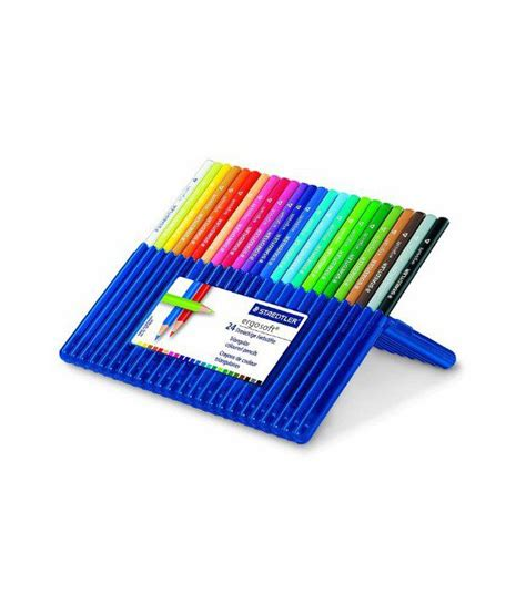 staedtler ergosoft colored pencils staedtler ergosoft pencils colored set of 24 colors in