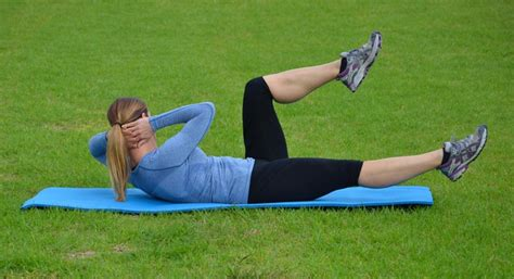 easy exercises  abdominals     home