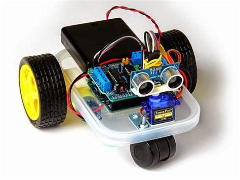 membuat robot simple أردوينو و راسبيري طريق الهواة لتعلم تصميم الدارات