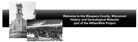 Waupaca County Court Records Waupacaindex