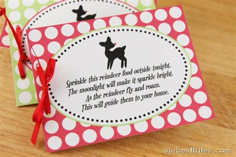 printable reindeer chow gift tag search results for free reindeer food poem printable