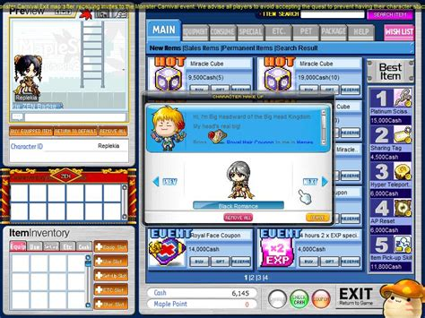 maplestory where to get face coupons maplestory royal hairstyles hairstylegalleries com