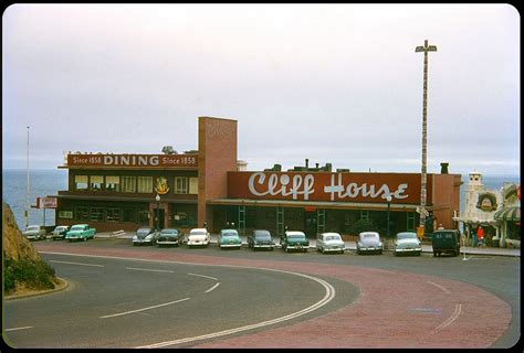 cliff house sf 38 wonderful color photographs of street scenes of the u s in the 1950s vintage
